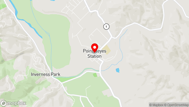 Google Map of Point Reyes Station, CA 94956
