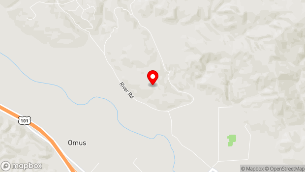 Google Map of 22205 River Rd, Geyserville, CA 95441