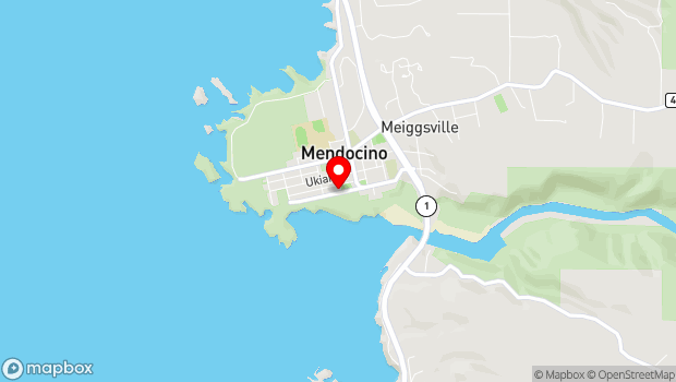 Google Map of 45050 Main Street, Mendocino, CA 95460