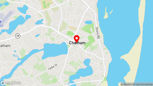 Google Map of 625 Main Street, Chatham, MA 02633