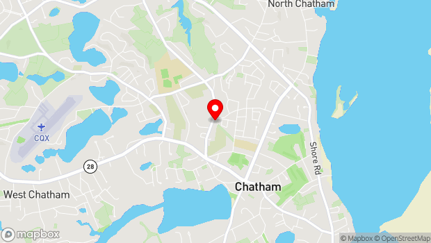 Google Map of 154 Crowell Road, Chatham, MA 02633