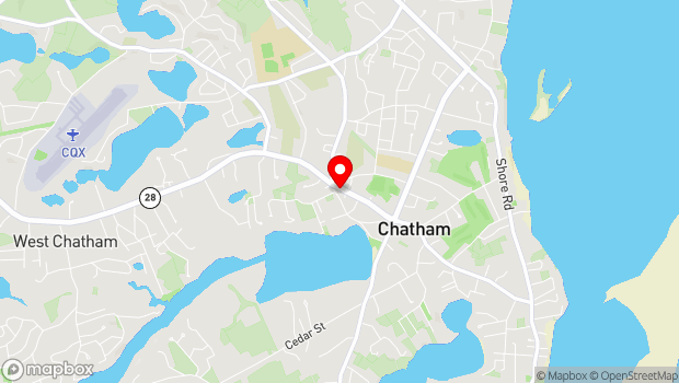 Google Map of 819 Main Street, Chatham, MA 02633