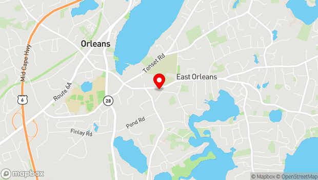 Google Map of 3 River Rd, Orleans, MA 02653