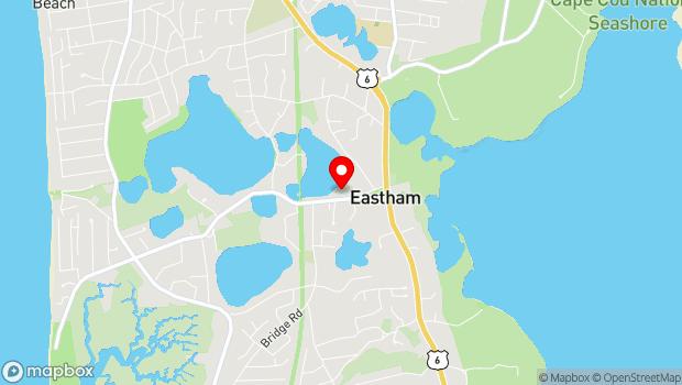 Google Map of 190 Samoset Rd., Eastham, MA 02642