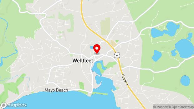 Google Map of 200 Main Street, Wellfleet, MA 02667