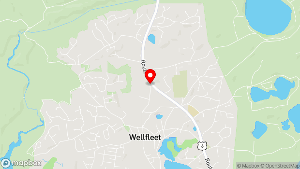 Google Map of 2357 Old Route 6 Rd, Wellfleet, MA 02667