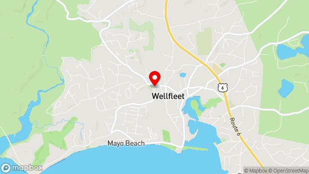 Google Map of 55 West Main Street, Wellfleet, MA 02667