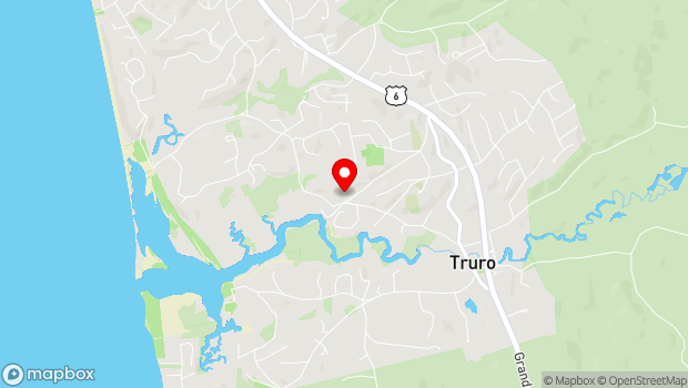 Google Map of 10 Meetinghouse Road, Truro, MA 02666