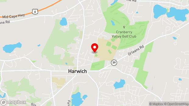 Google Map of 75 Oak Street, Harwich, MA 02645