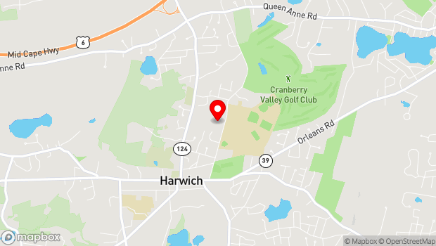 Google Map of 100 Oak Street, Harwich, MA 02645