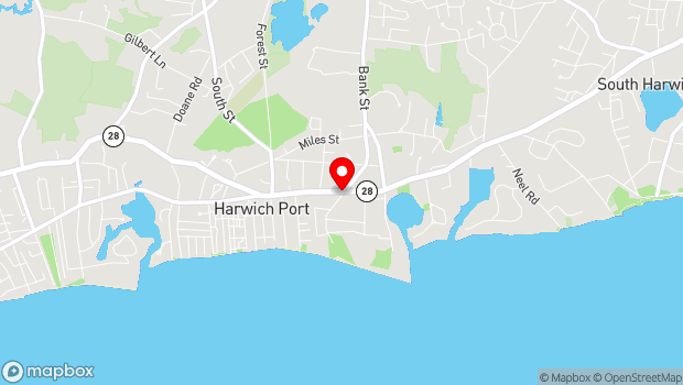 Google Map of Main Street, Chatham, MA 02633