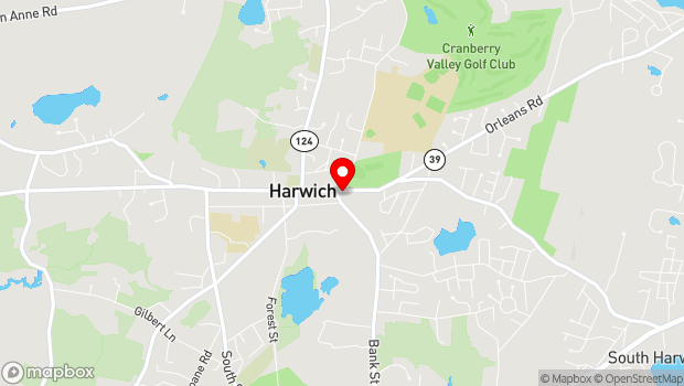 Google Map of 739 Main Street, Harwich, MA 02645