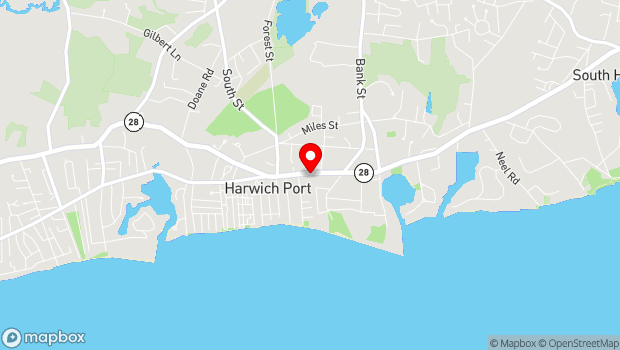 Google Map of 551 Route 28, Harwich Port, MA 02646