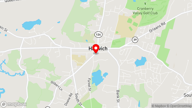 Google Map of 265 Sisson Road, Harwich, MA 02645