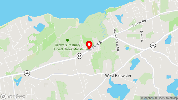 Google Map of 773 Main Street, Brewster, MA 02631