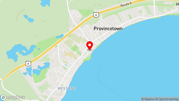 Google Map of 336 Commercial Street, Provincetown, MA 02657