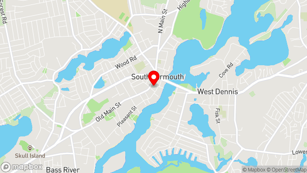 Google Map of 307 Old Main Street, South Yarmouth, MA 02664