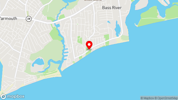Google Map of S Shore Dr, South Yarmouth, MA 02664