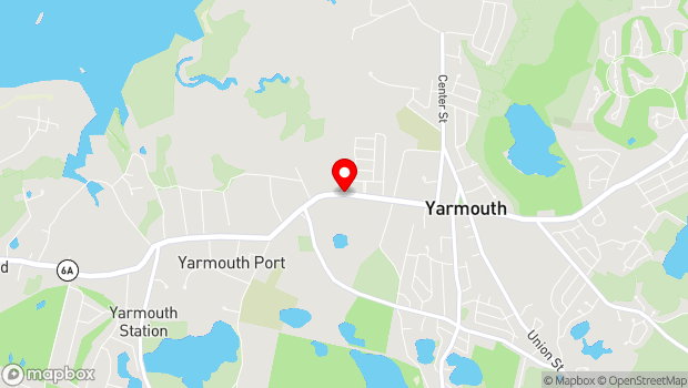 Google Map of Route 6A, Yarmouth Port, MA 02675