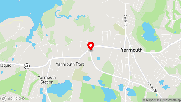 Google Map of 8 Strawberry Lane, Yarmouth Port, MA 02675