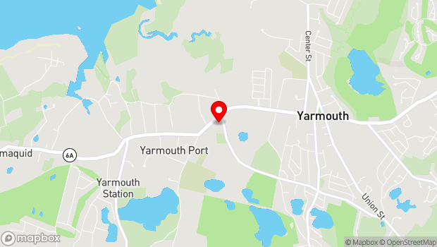 Google Map of 11 Strawberry Lane, Yarmouth Port, MA 02675
