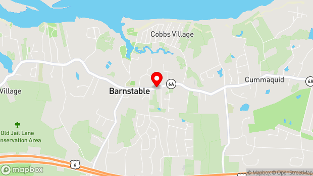 Google Map of 3480 Rte. 6A , Barnstable, MA 02630