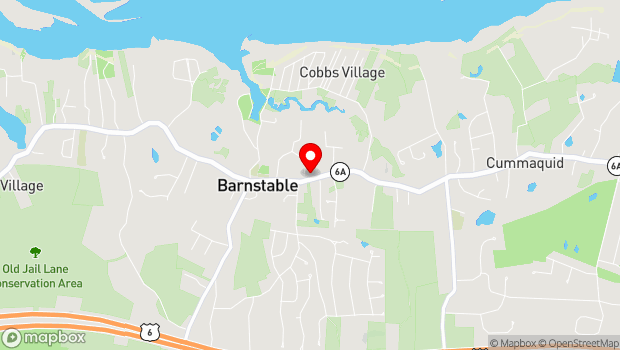 Google Map of 3480 Rte. 6A, Barnstable, MA 02630