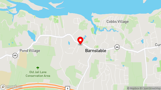 Google Map of 3171 Route 6A, Barnstable, MA 02630