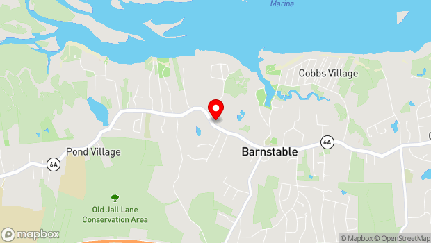 Google Map of 3090 Main Street, Barnstable, MA 02630