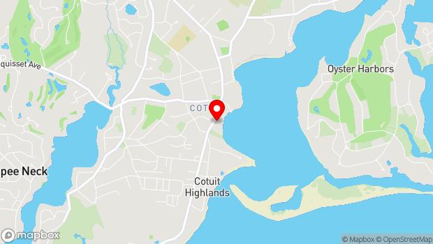 Google Map of 976 Main Street, Cotuit, MA 02635