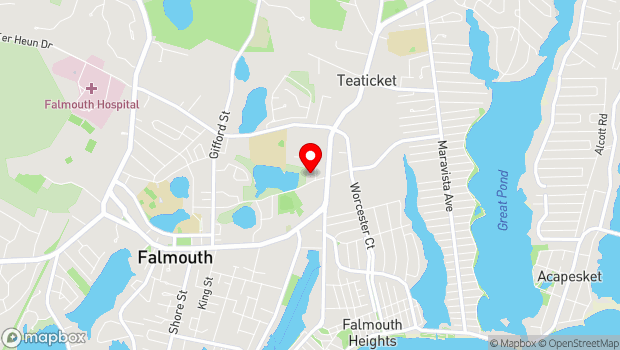 Google Map of 310A Dillingham Avenue, Falmouth, MA 02540