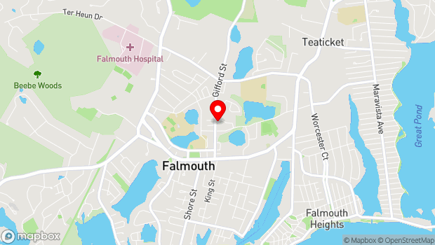 Google Map of 137 Gifford Street, Falmouth, MA 02541
