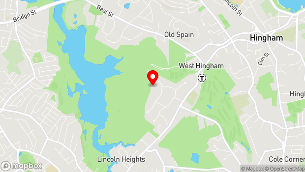 Google Map of One Conservatory Drive, Hingham, MA 02043