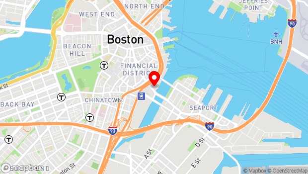 Google Map of 290 Congress Street, Boston, MA 02210
