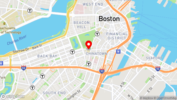 Google Map of 106 Boylston Street, Boston, MA 02116