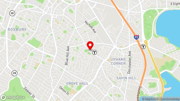 Google Map of 650 Dudley Street, Boston, MA 02125
