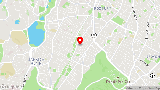 Google Map of 29 Germania Street, Jamaica Plain, MA 02130