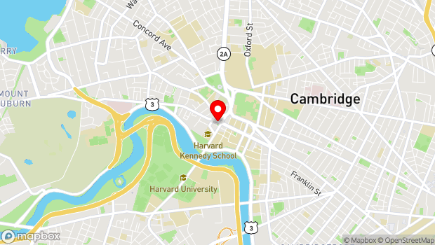 Google Map of 102 Mount Auburn Street, Cambridge, MA 02138