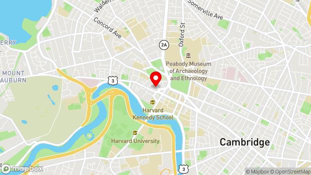 Google Map of 40 Brattle St, Harvard Square, Cambridge, MA 02138