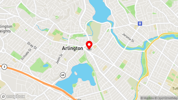 Google Map of 7 Medford Street, Arlington, MA 02474