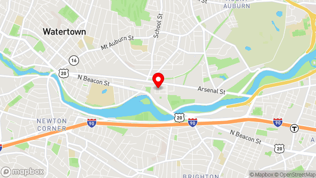 Google Map of 321 Arsenal Street, Watertown, MA 02472