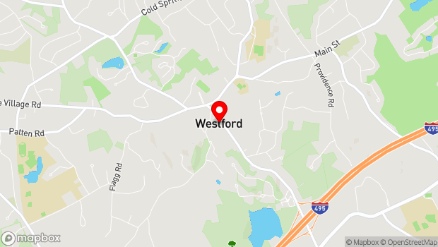 Google Map of 10 Lincoln Street, Westford, MA 01886