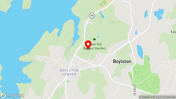 Google Map of 11 French Drive, Boylston, MA 01505