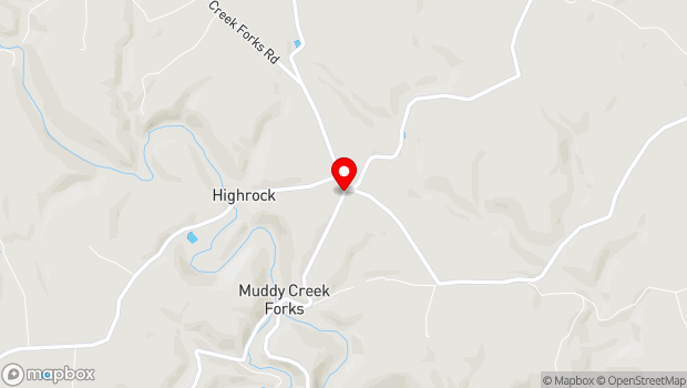 Google Map of 1258 Muddy Creek Forks Road, Airville, PA 17302