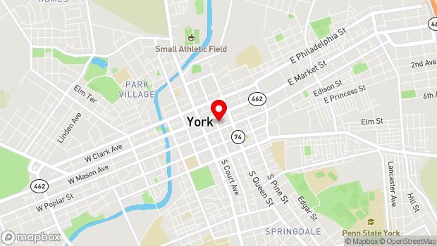 Google Map of Market District, WeCo, Royal Square, York, PA 17401