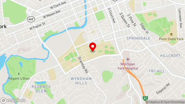 Google Map of 441 Country Club Road, York, PA 17403