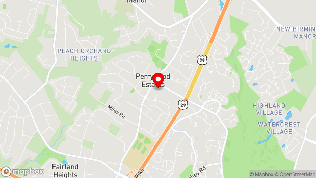 Google Map of 3315 Greencastle Rd, Burtonsville, MD 20866