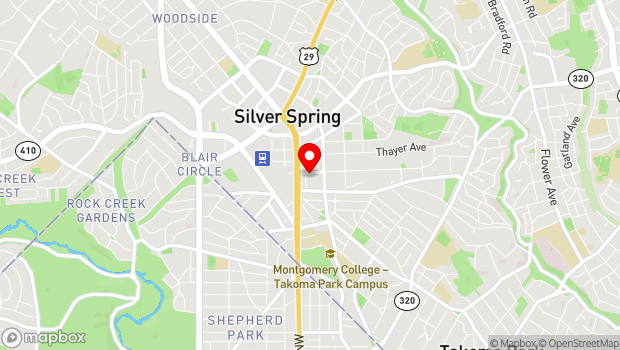 Google Map of 914 Silver Spring Avenue, Silver Spring, MD 20910