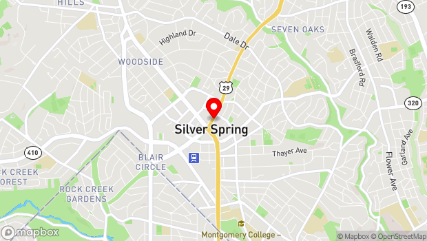 Google Map of 8641 Colesville Road, Silver Spring, MD 20911