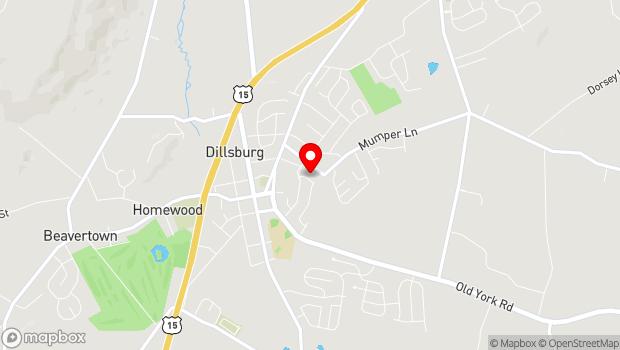 Google Map of 204 Mumper Lane, Dillsburg, PA 17019